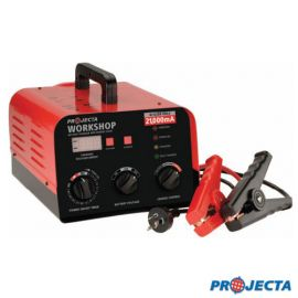 Projecta - Workshop 6/12/24V 21,000mA Battery Charger Manual & Automatic