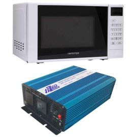 2500W Modified Sine Wave Inverter 12V with Microwave 18L