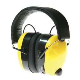 AM/FM Bullant Earmuff Radio with Electronic Noise Control and AUX Input