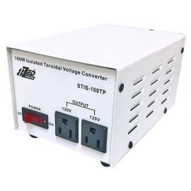 100 watt isolated toroidal voltage converter with no noise